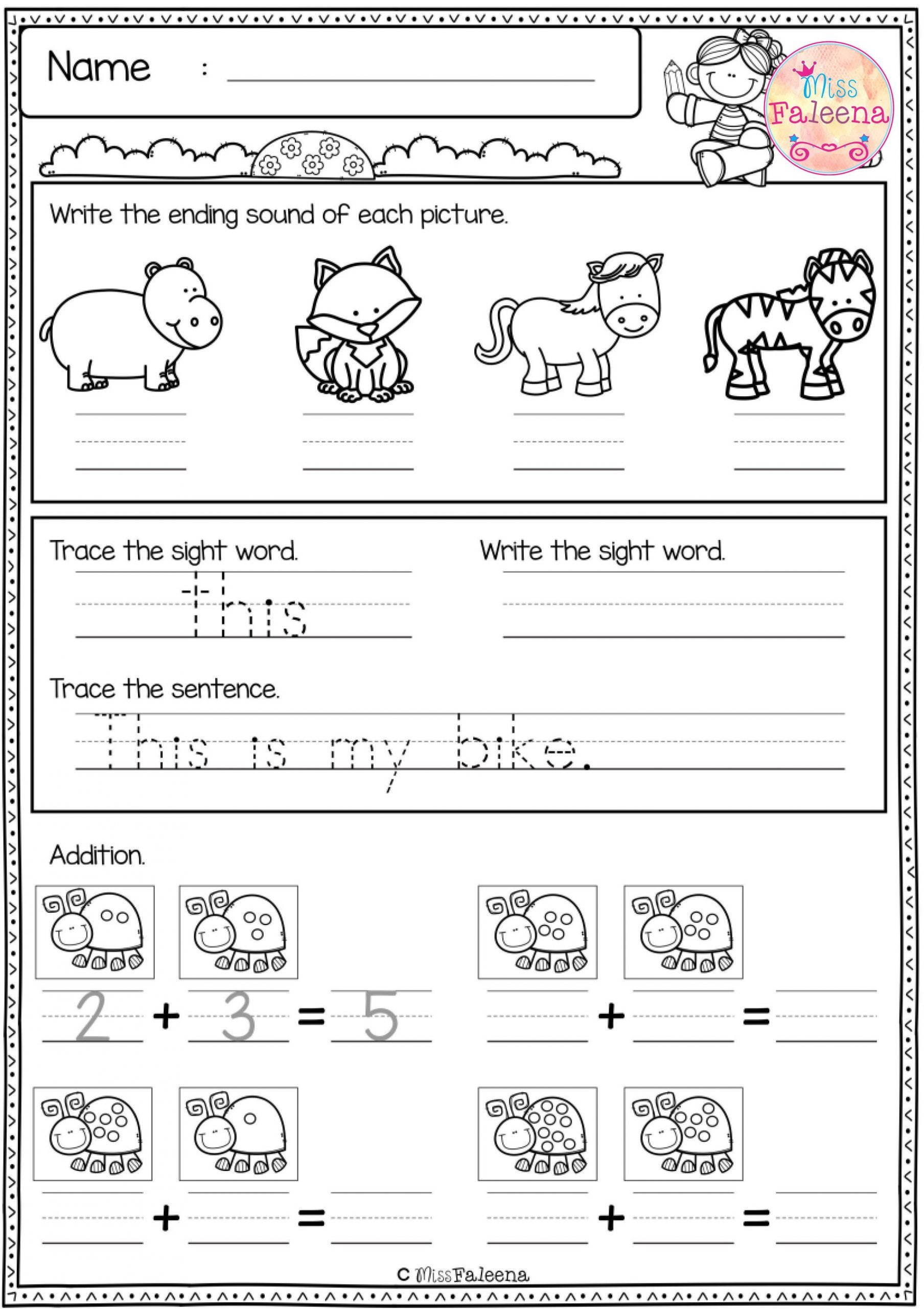Morning Work Worksheets Free First Grade Morning Work Includes 20 Pages Of Morning