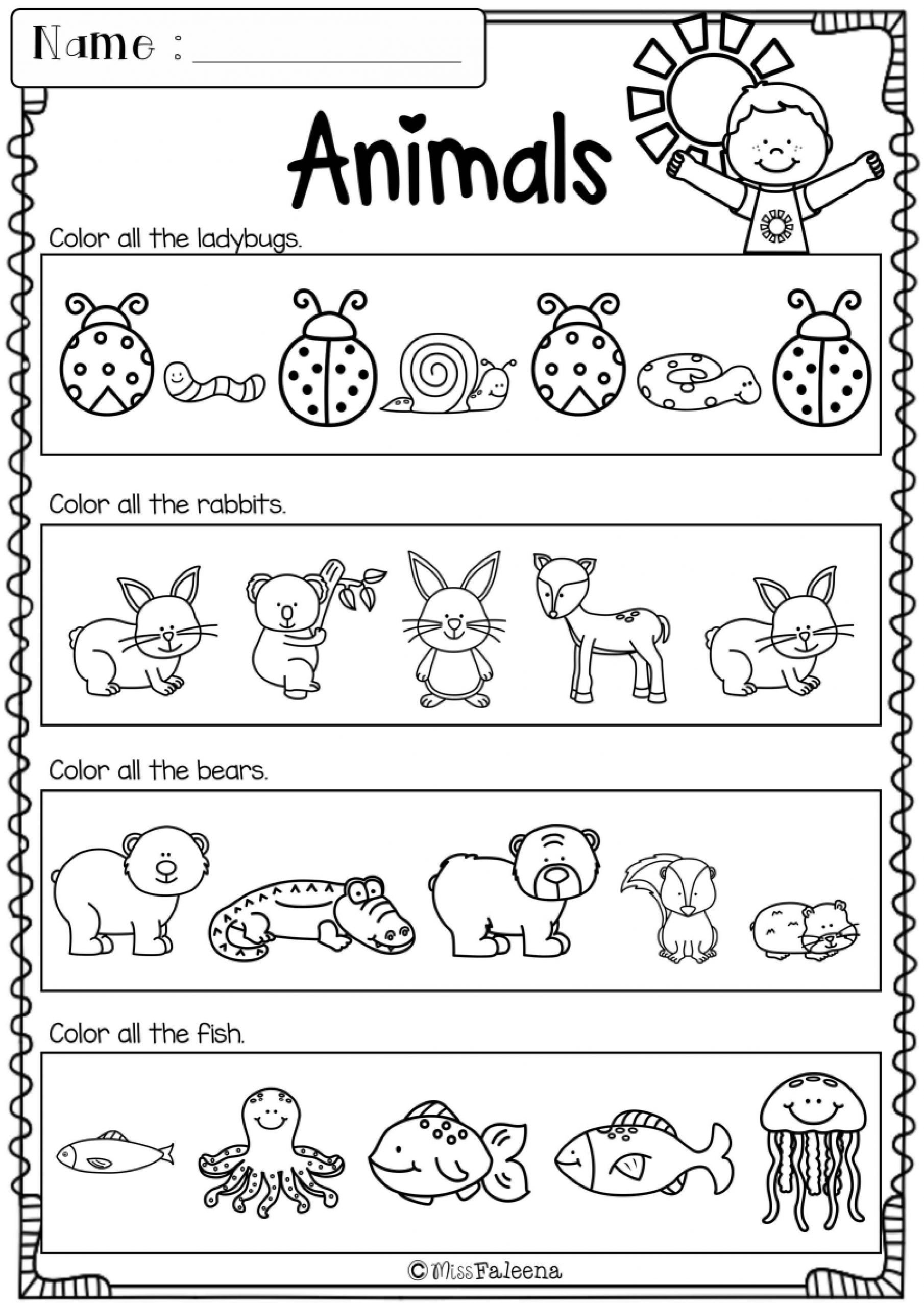 Morning Work Worksheets Free Kindergarten Morning Work