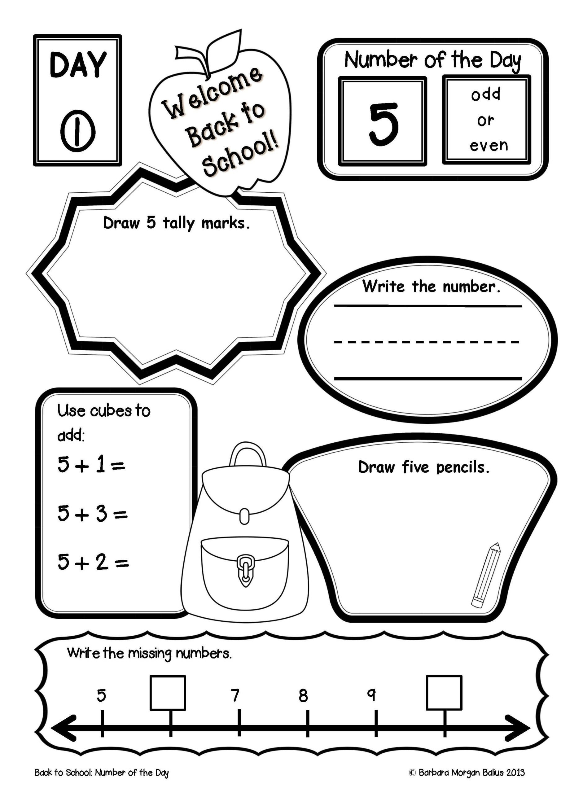 Morning Work Worksheets Worksheets Place Value Number Sense Practice the