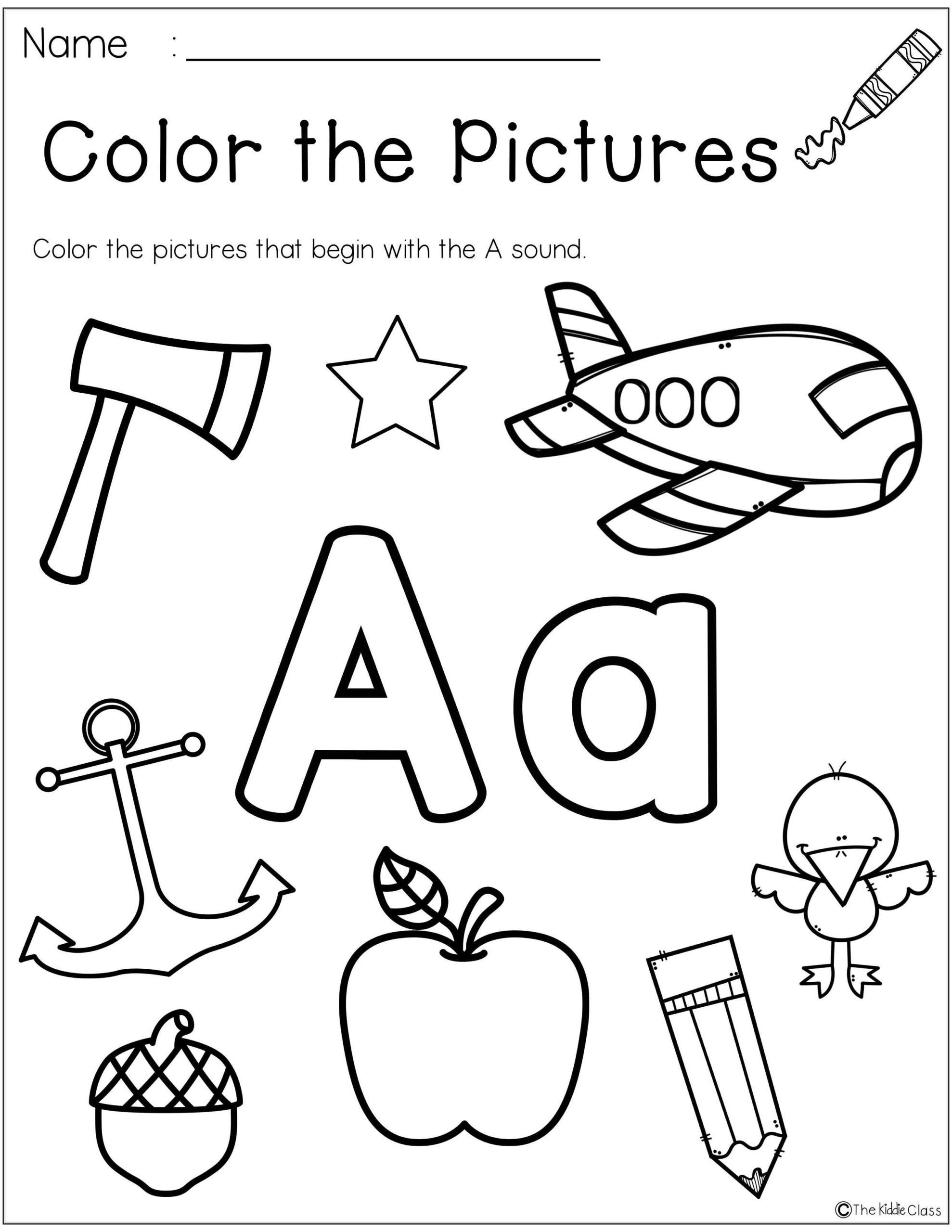 Morning Worksheets for Kindergarten Worksheets Letter the Week Kindergarten Morning Work