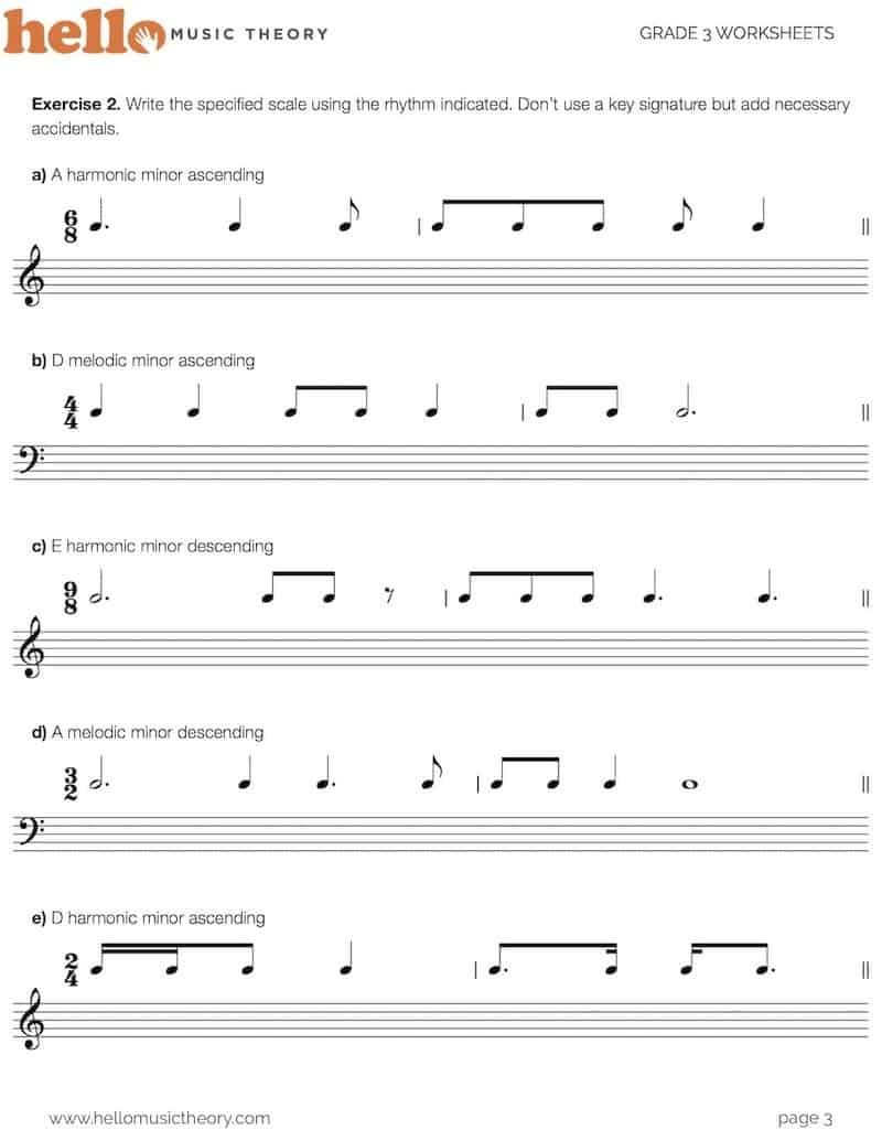Music theory Worksheet for Kids Grade Music theory Worksheets Hellomusictheory Worksheet