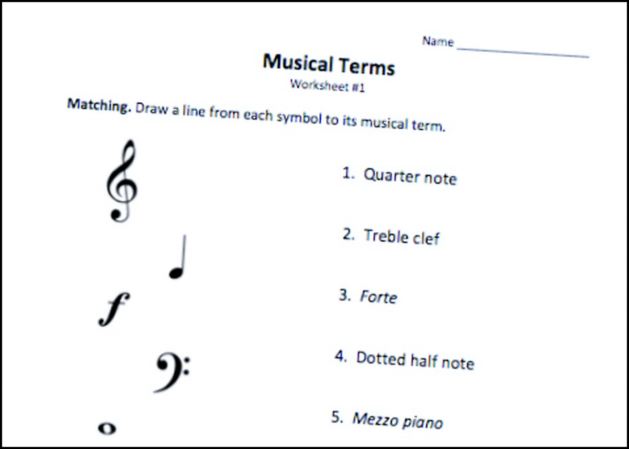 Music theory Worksheet for Kids Pin On Music theory