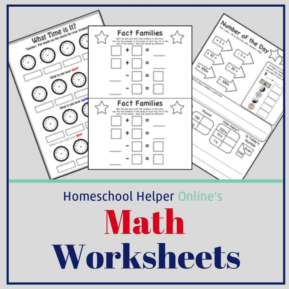 Native American Math Worksheets Math Worksheets Homeschool Helper Line