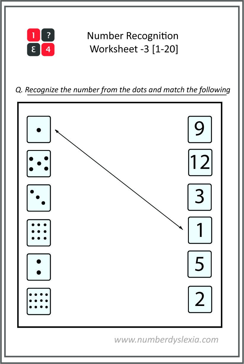 Number Recognition Worksheets 1 20 Free Printable Number Recognition Worksheets 1 20 [pdf