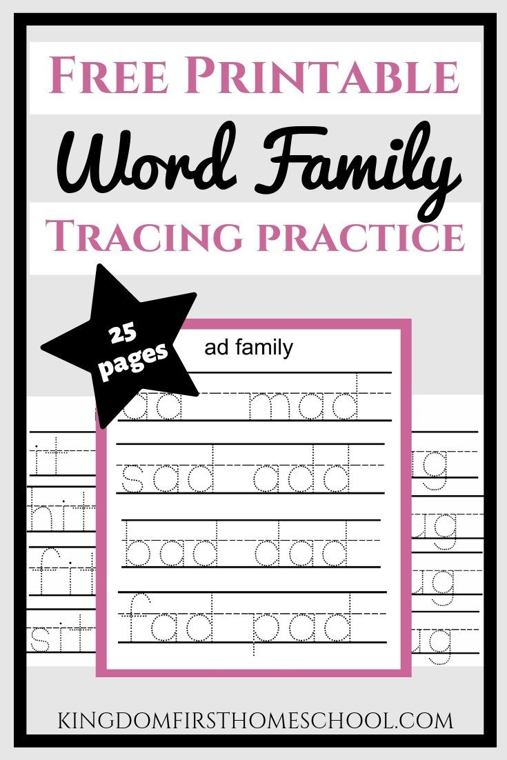 Op Word Family Worksheets Free Word Family Printables