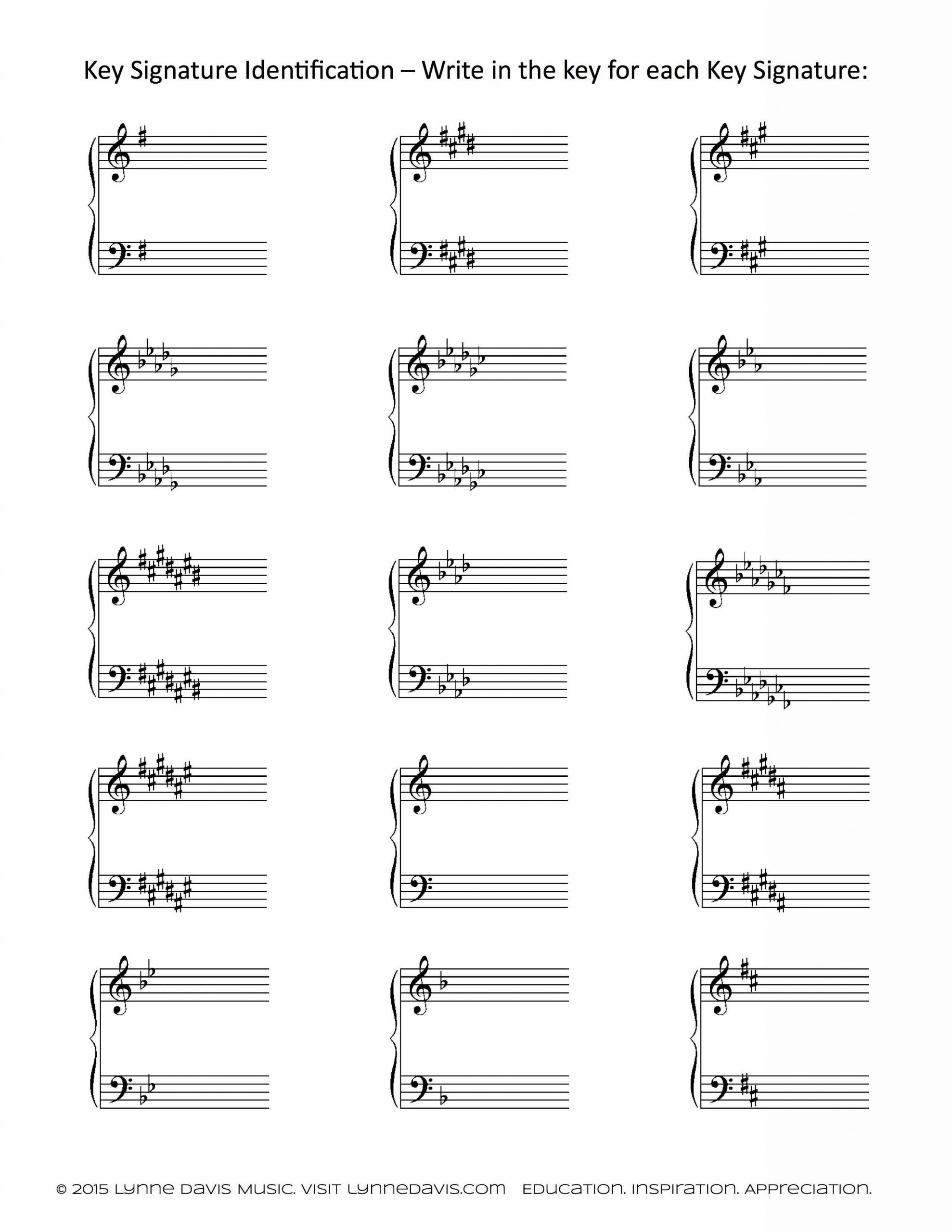 id key signatures google search education pinterest music