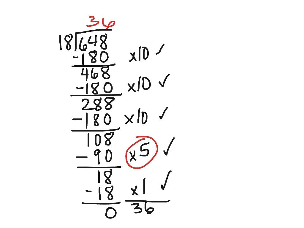 Partial Quotients Worksheet Partial Quotient Long Division Math