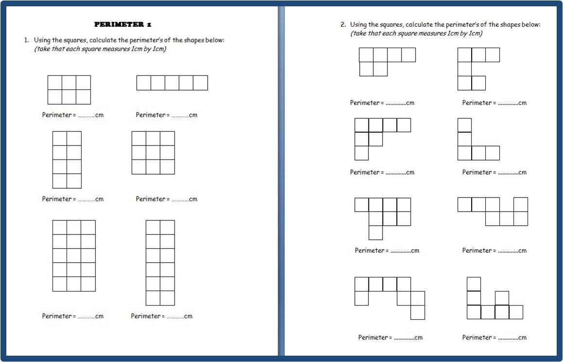 Perimeter Worksheets 3rd Grade Pin by Keith Ferrell On 3rd Grade Accel Math