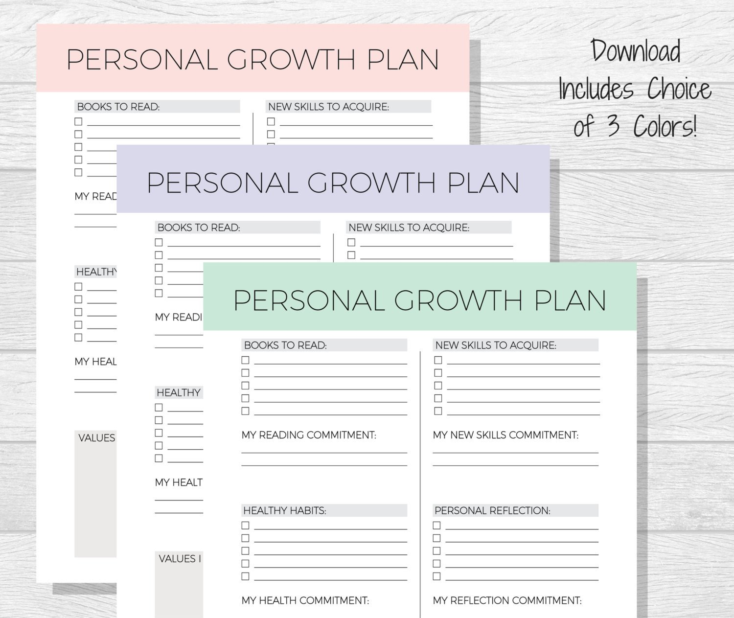 Personal Development Worksheets Free Printable Personal Growth Worksheets