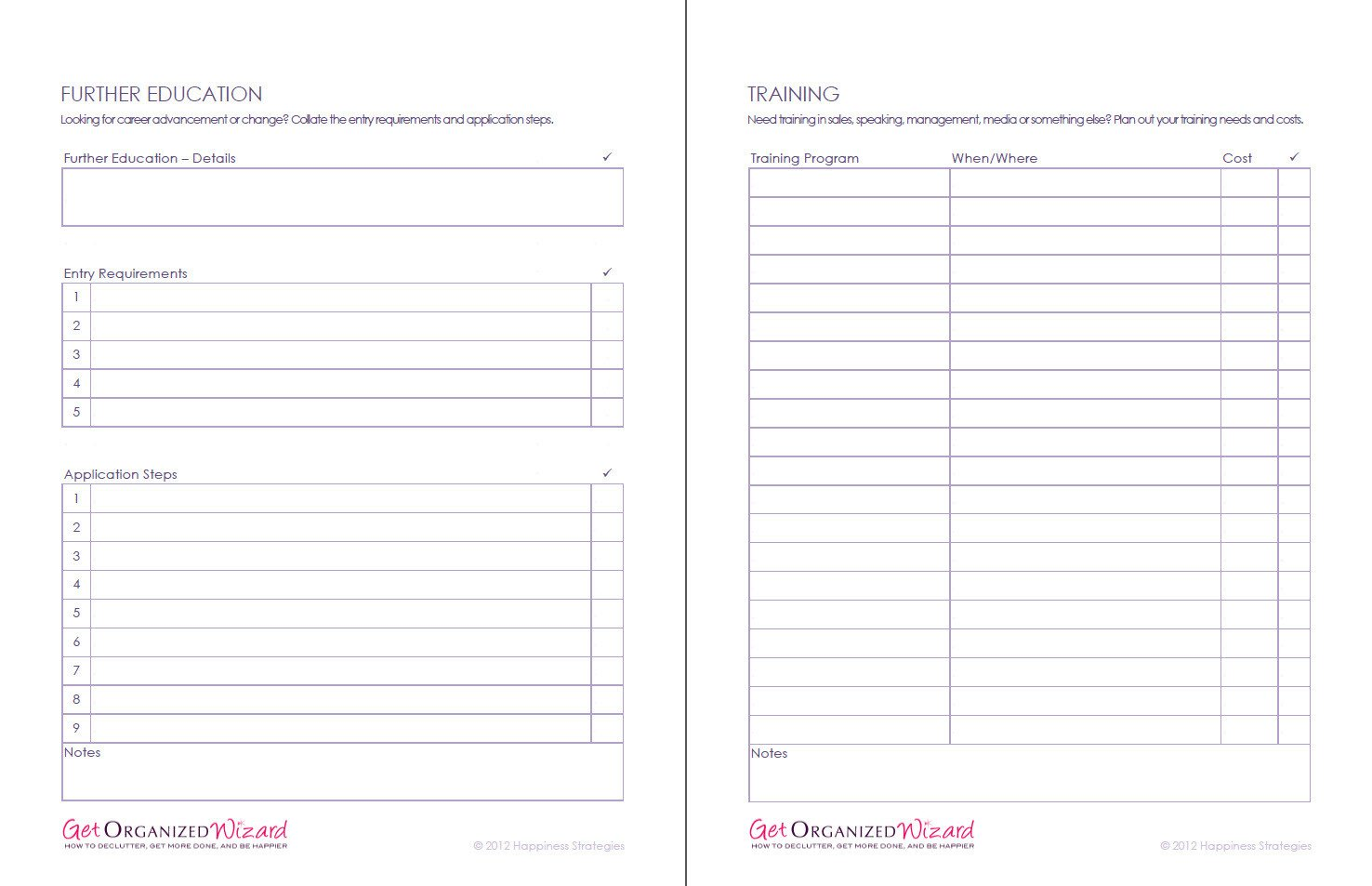 Personal Development Worksheets Life Management Worksheets