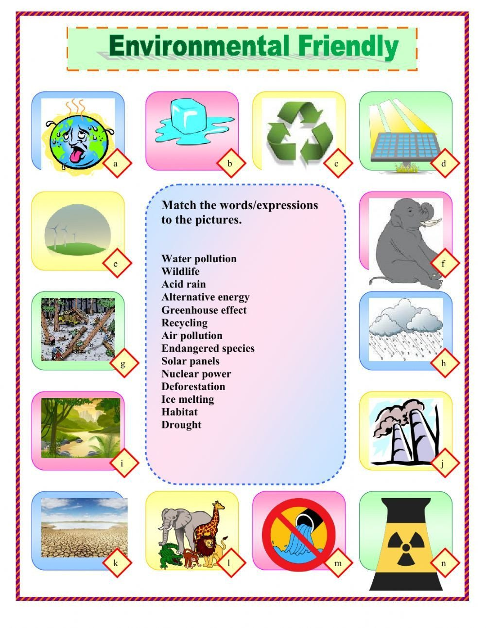Pollution Worksheets Pdf the Environment Interactive and Able Worksheet You