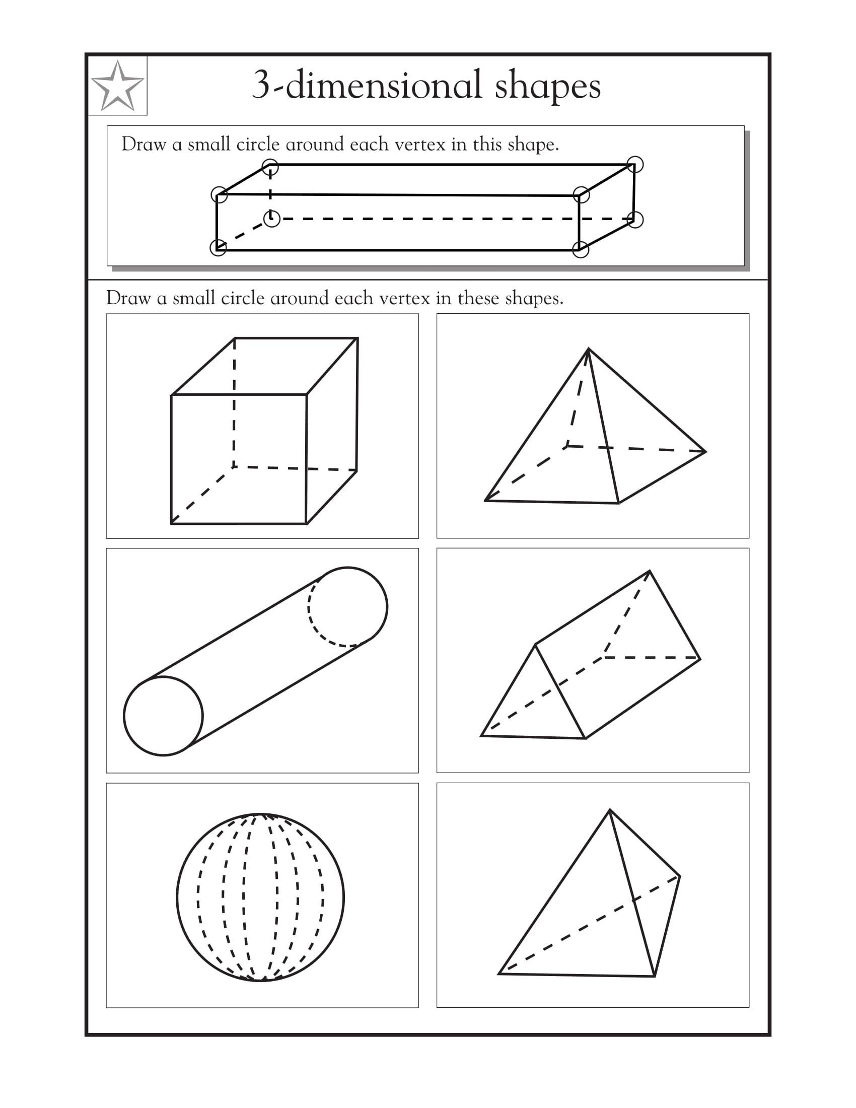 Polygon Worksheets 4th Grade 4th Grade Math Worksheets In 2020