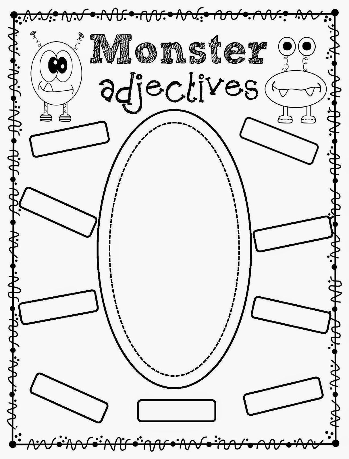 Pronoun Worksheets 2nd Grade Adjectives Worksheets 2nd Grade Language Arts Printable