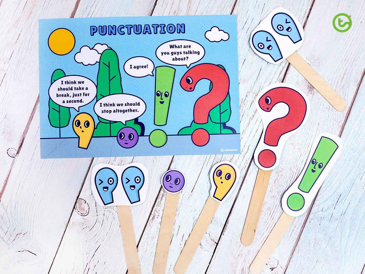 Punctuation Worksheets for Kindergarten 26 Fun Punctuation Resources and Activities