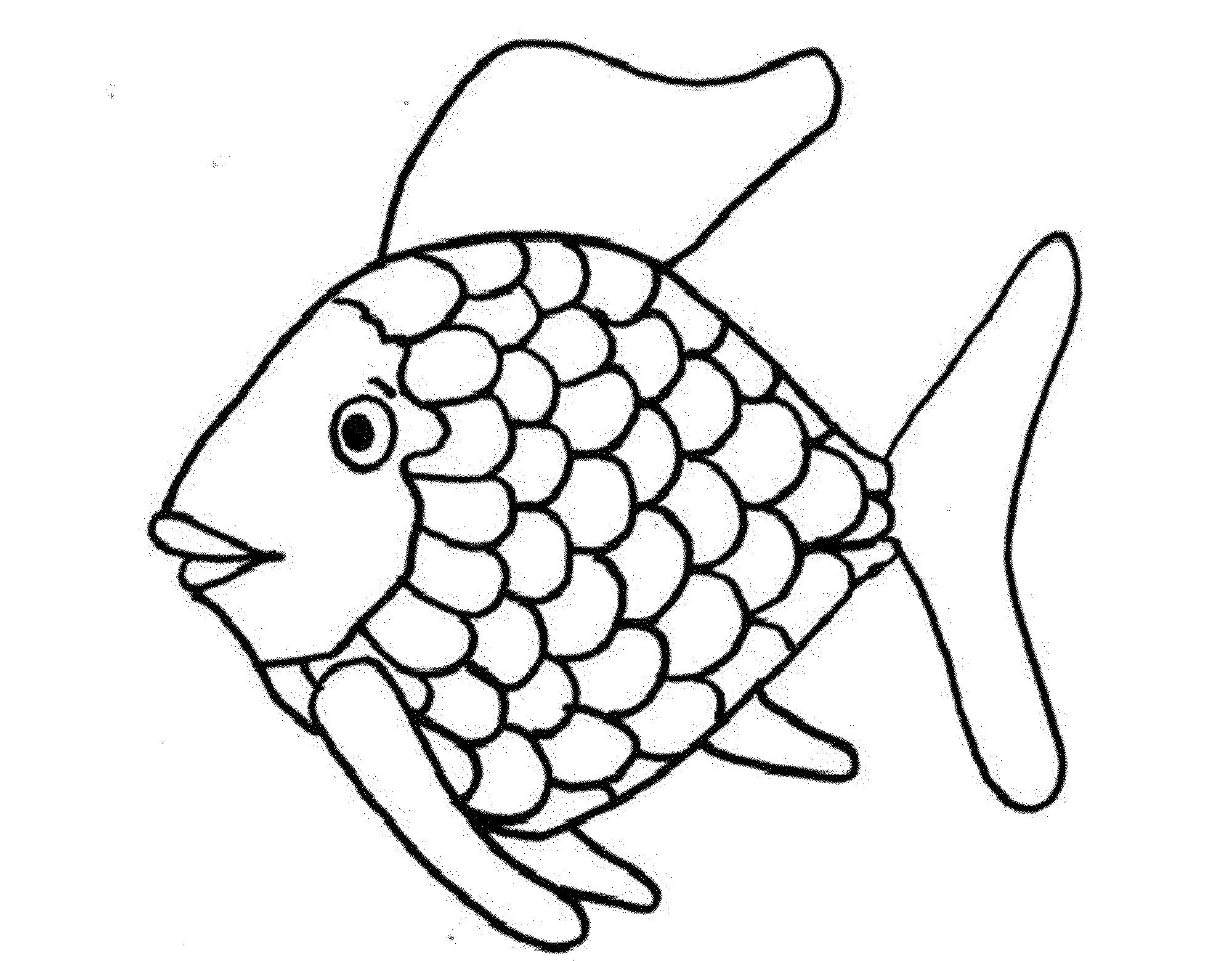 Rainbow Fish Printable Worksheets Coloring Rainbow Fish Blue for Preschool Letter Worksheets