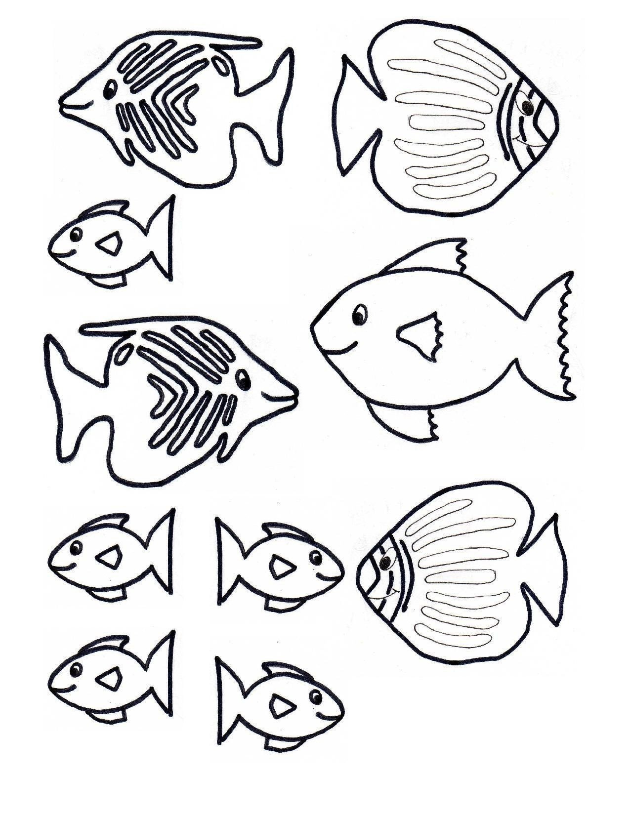 Rainbow Fish Worksheets Rainbow Fish Printable Worksheets Fish Parts Worksheets In