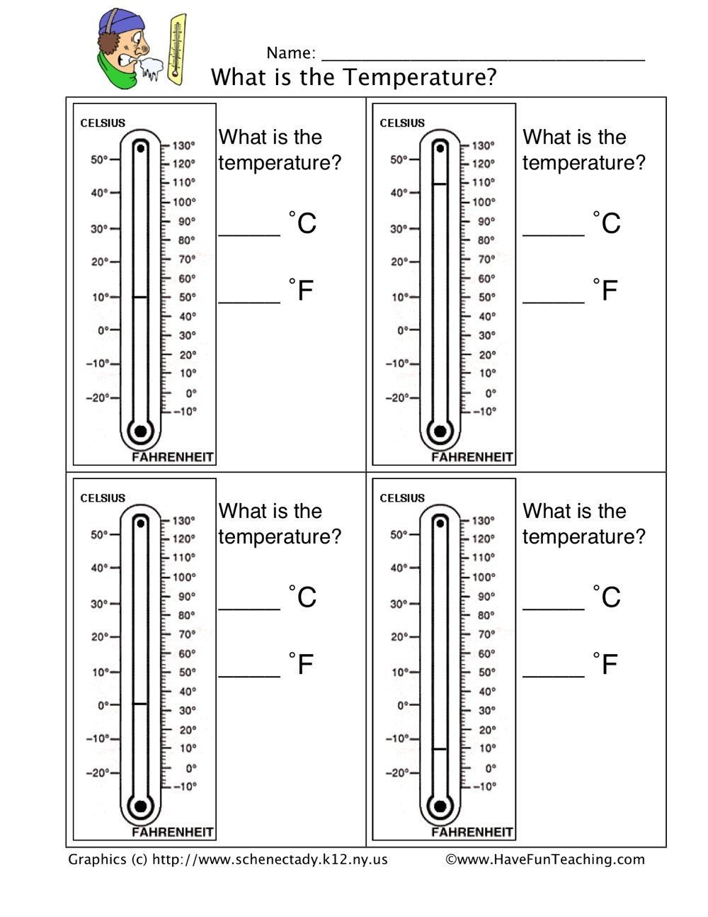 Reading A thermometer Worksheet Read A thermometer Worksheet In 2020