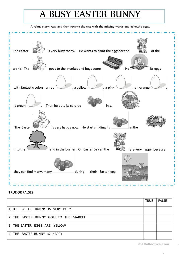 Rebus Story Worksheets Rebus Story English Esl Worksheets for Distance Learning