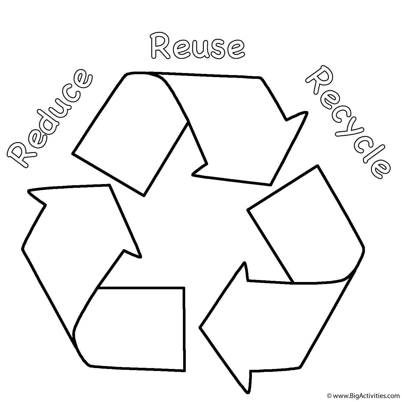 Recycle Worksheets for Kindergarten Reduce Reuse Recycle Worksheet for 1st Grade