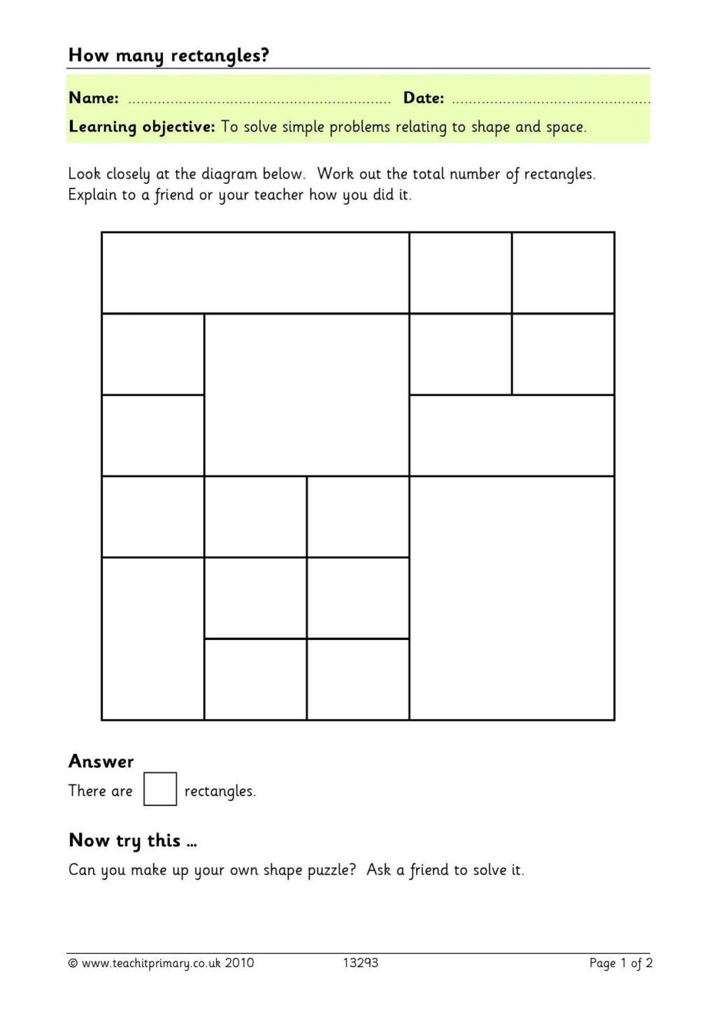 free geometry worksheets 2nd grade geometry riddles 14