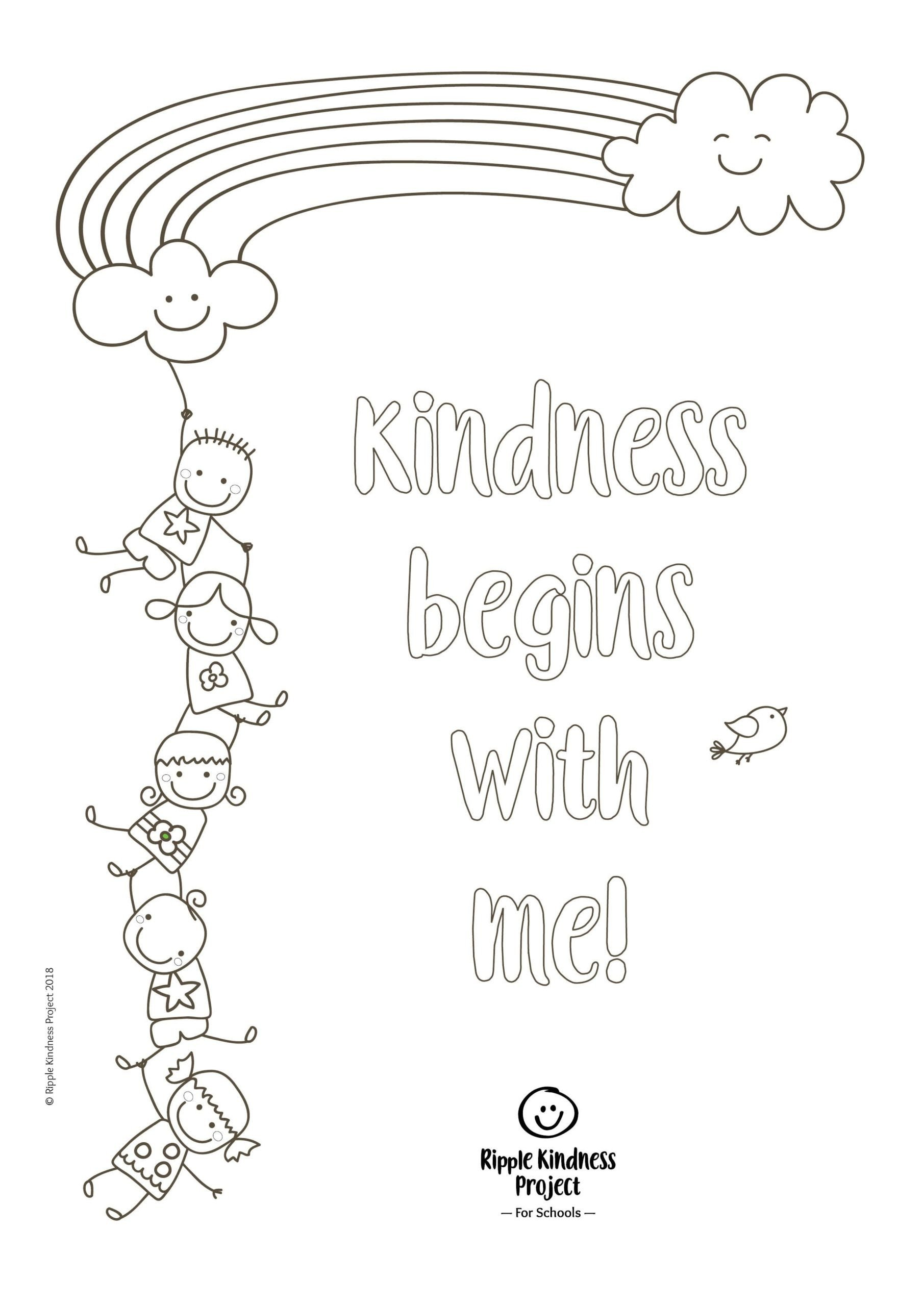 Self Esteem Worksheets for Kids Free Printables Teaching Kindness Activities Printable Self