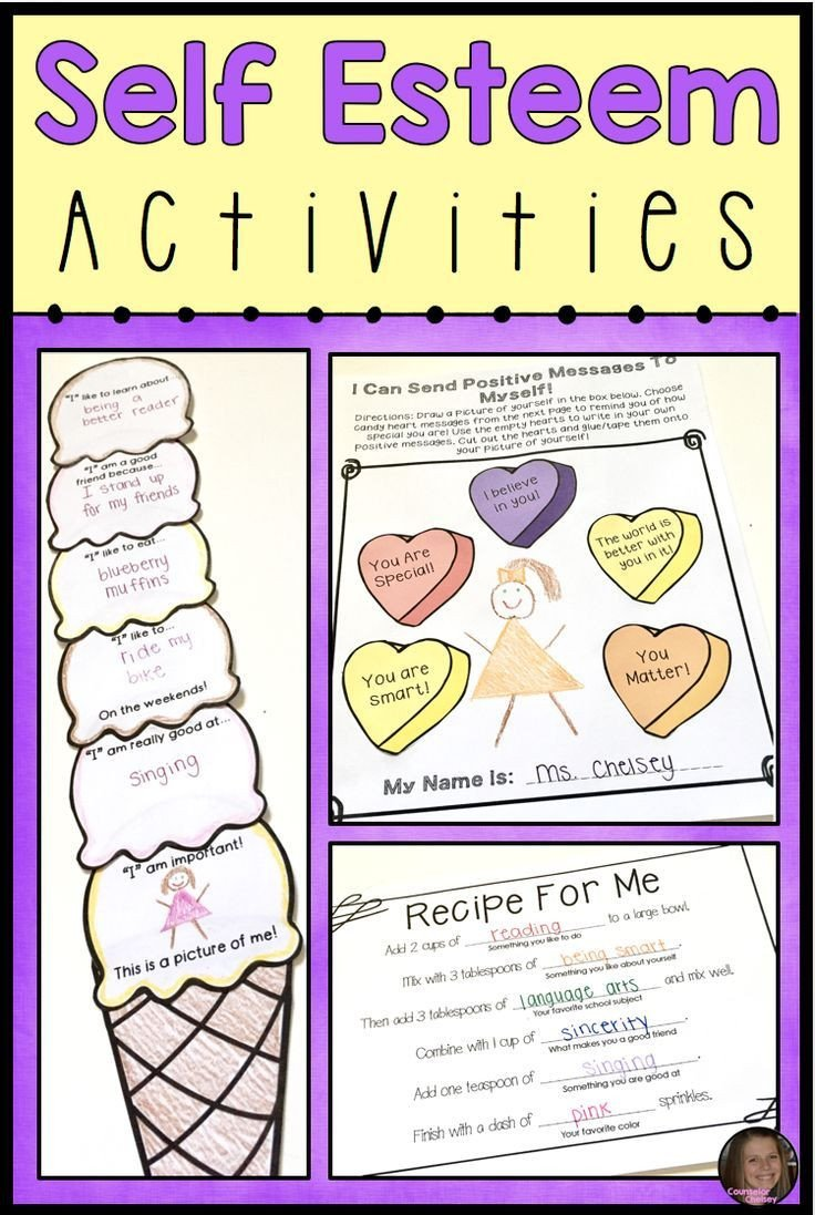 Self Esteem Worksheets for Kids these Self Esteem Activities for Kids Will Help Elementary
