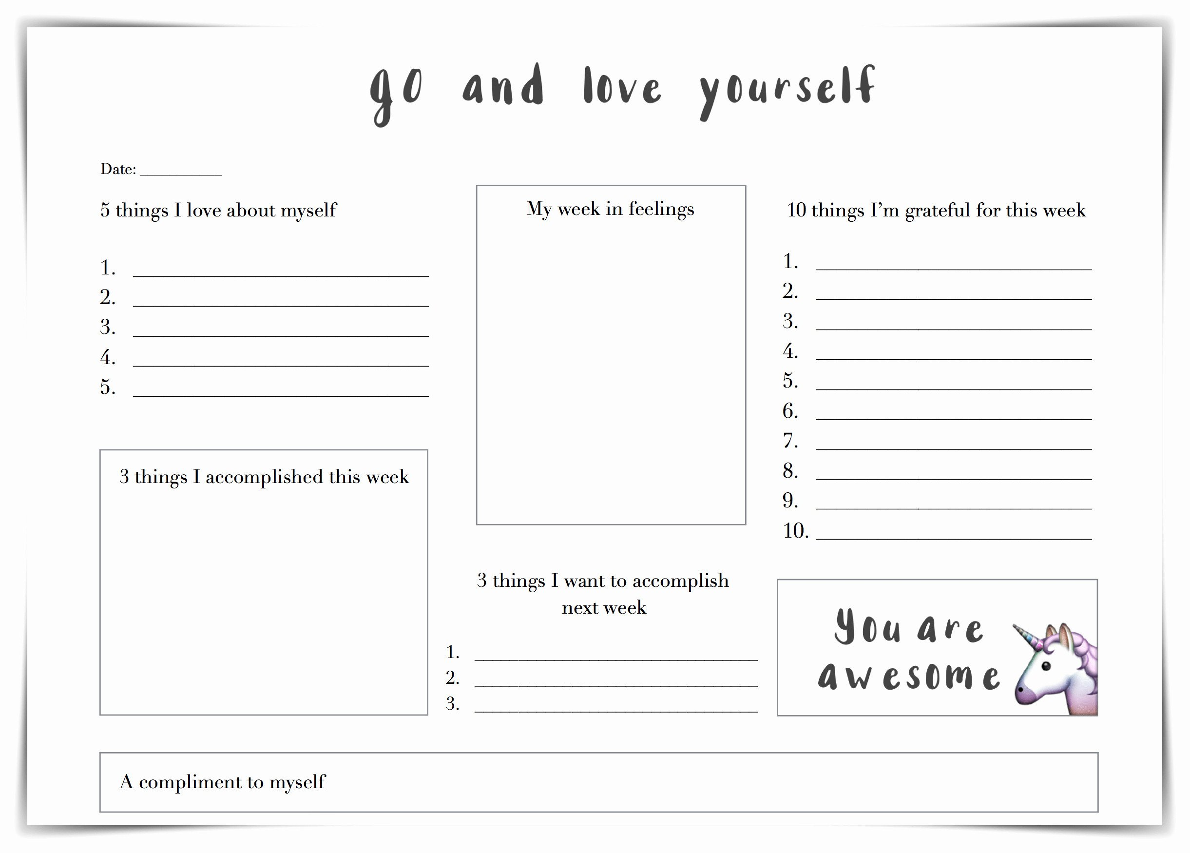 Self Esteem Worksheets Pdf Printable Activities for Adults Fresh Self Esteem Worksheets