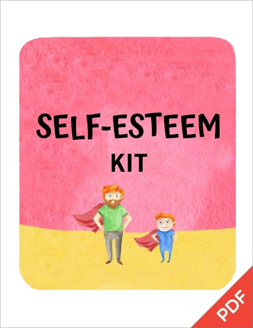 Self Esteem Worksheets Pdf Self Esteem & Confidence Kit Pdf Ages 5 11