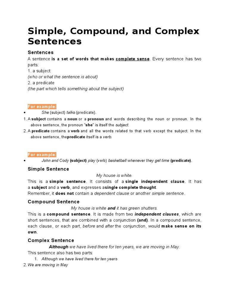 Sentence Imitation Worksheets Simple Pound and Plex Sentencescx