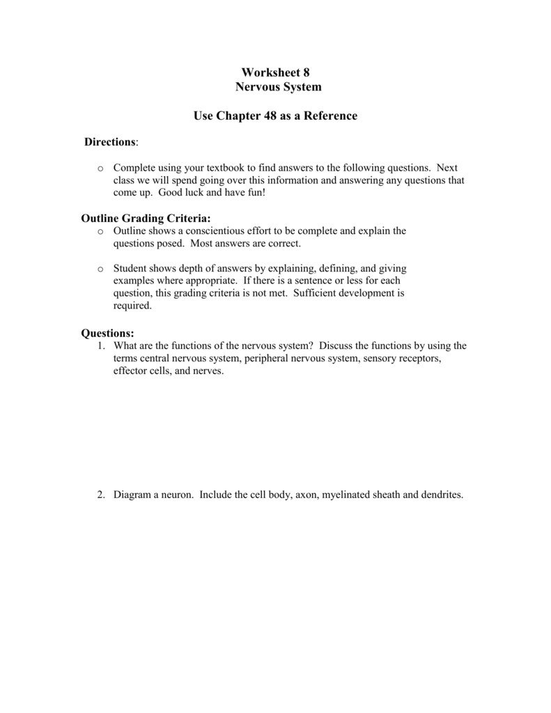 Sentence Imitation Worksheets Unique Neuron Worksheet