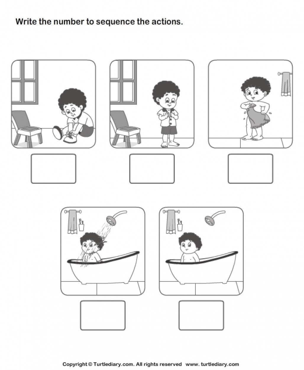Sequence Pictures Worksheets New Sequencing events Worksheet