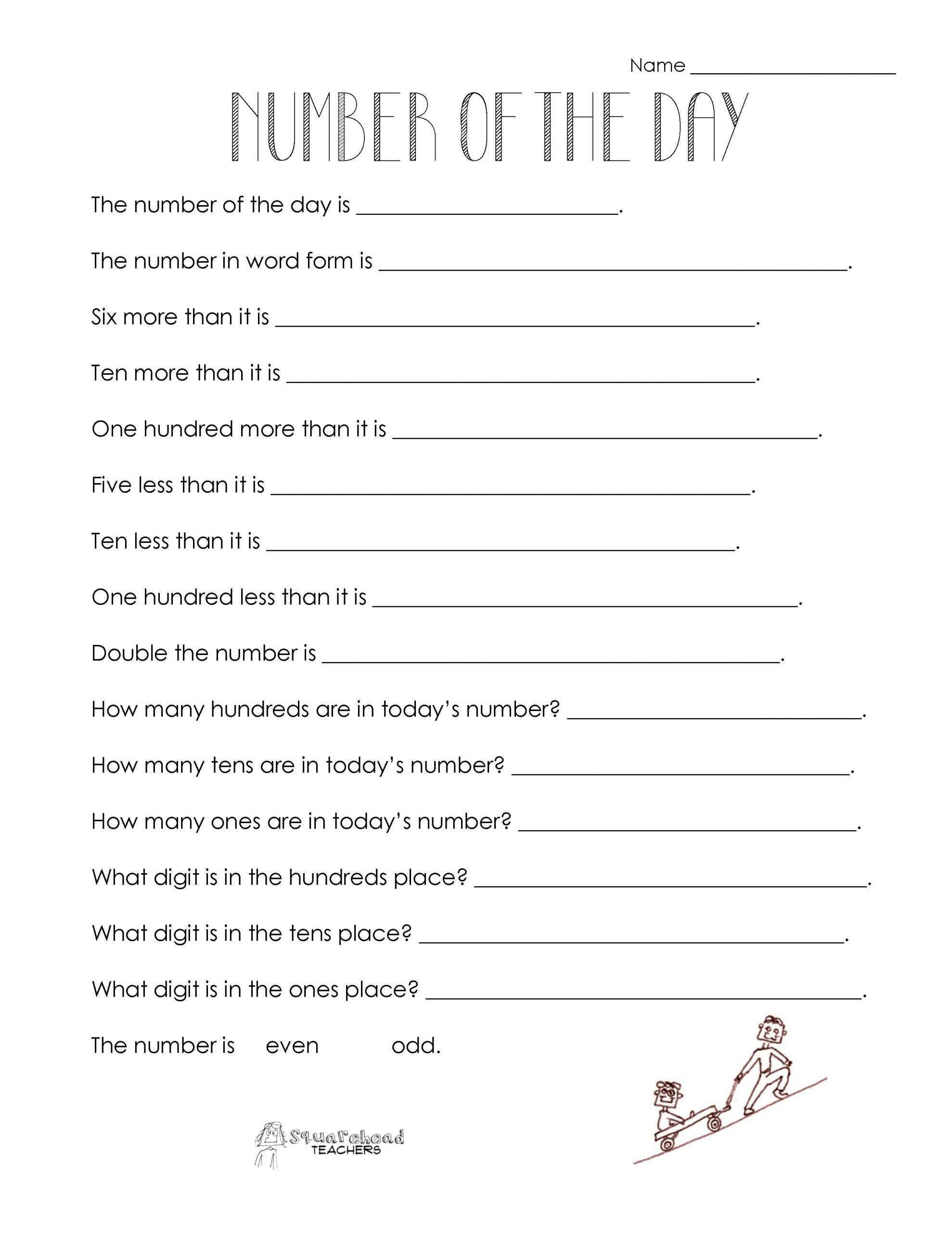 Sequencing Worksheet 2nd Grade Sequencing Worksheet 2nd Grade Number the Day Worksheet