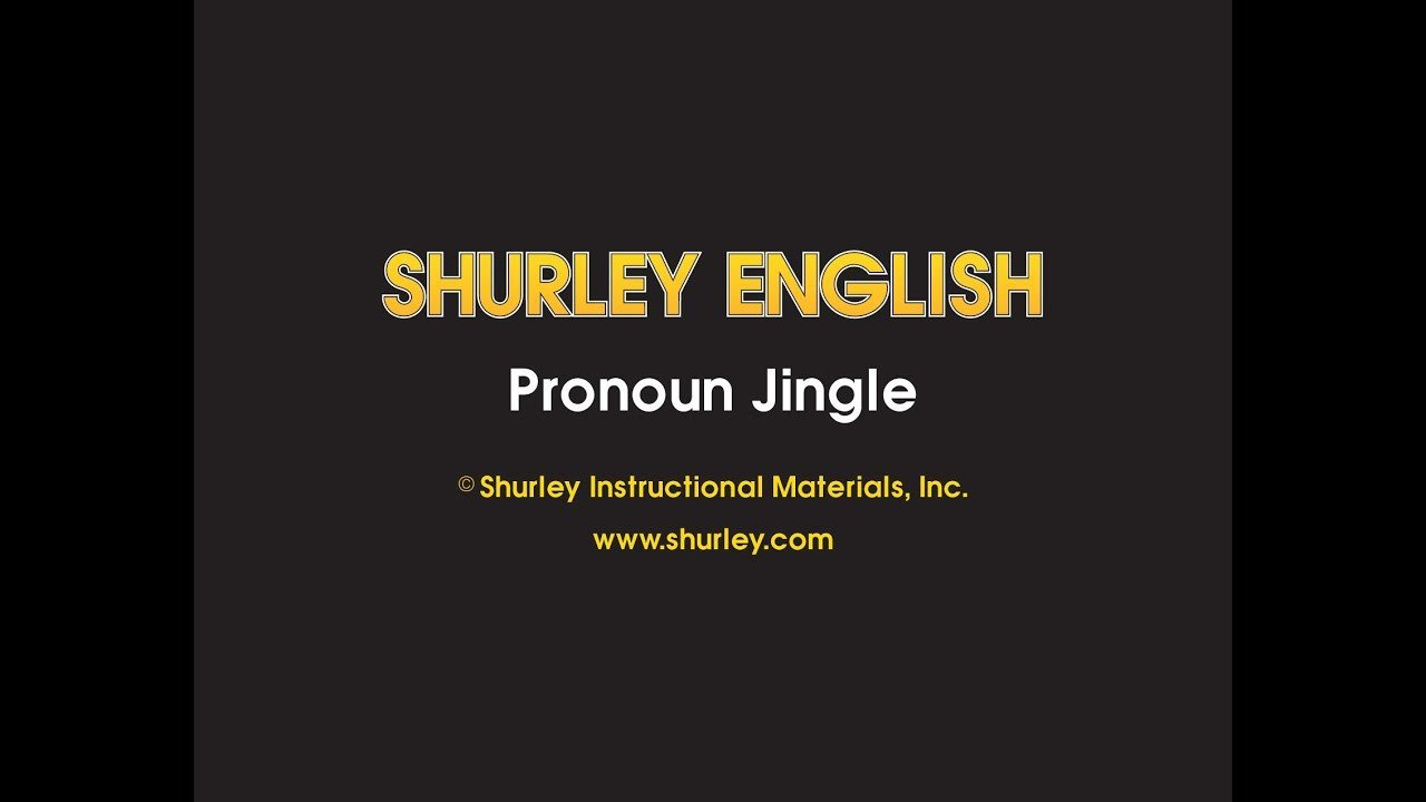 Shurley English Worksheets Shurley English Jingle 13 Pronoun Jingle