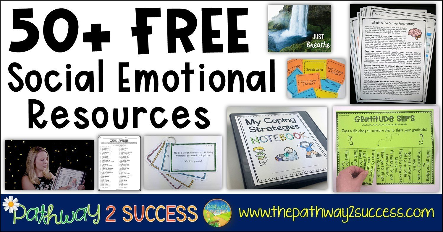 Social Skills Training Worksheets Adults 50 Free Sel Resources the Pathway 2 Success