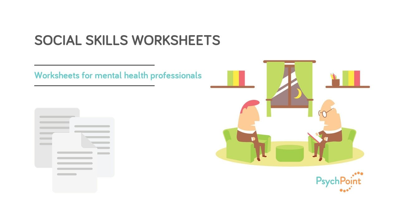 Social Skills Training Worksheets Adults social Skills Worksheets