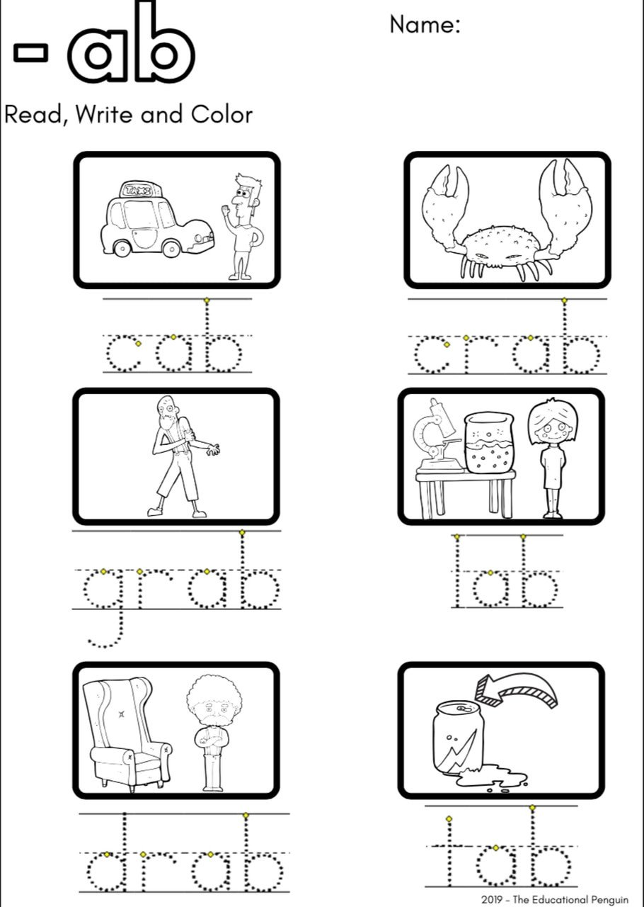 Soft C and G Worksheets Cvc Short A sound Worksheets