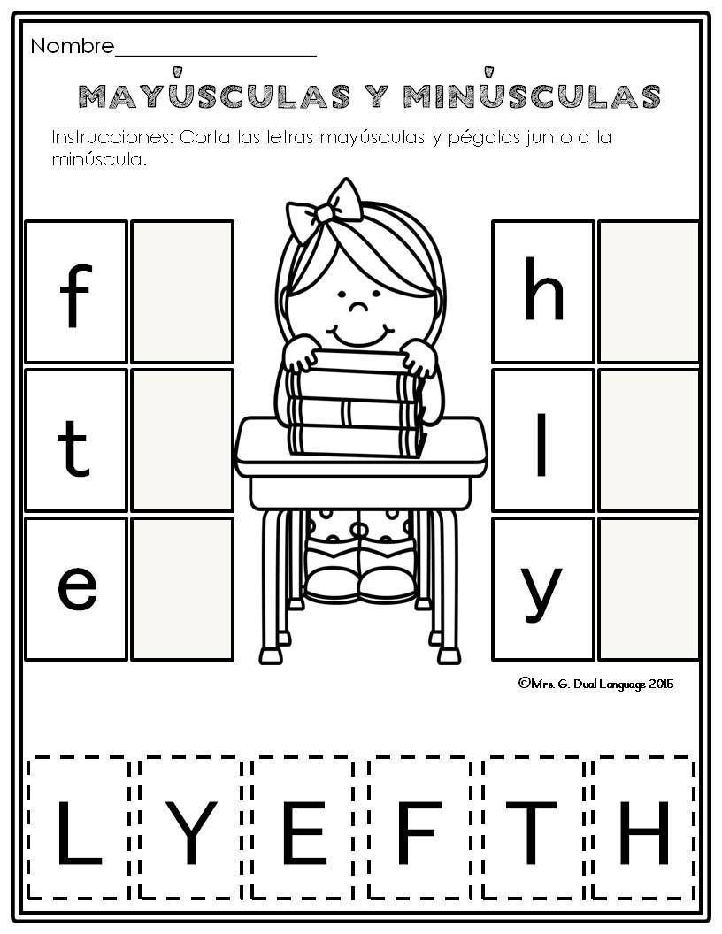 Spanish Alphabet Worksheets for Kindergarten Pin On Homeschool Kindergarten
