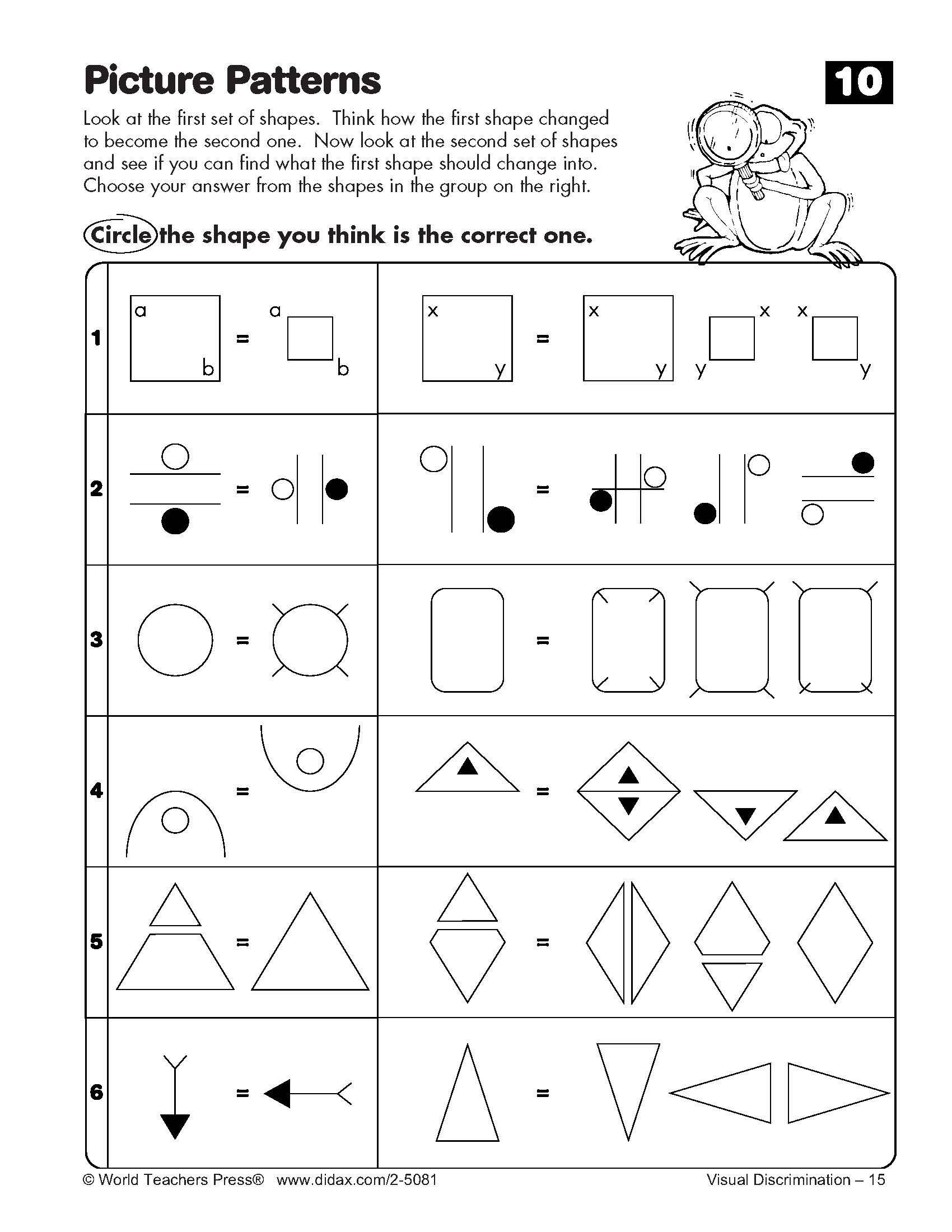 Spatial Reasoning Worksheets Spatial Reasoning Worksheets Free