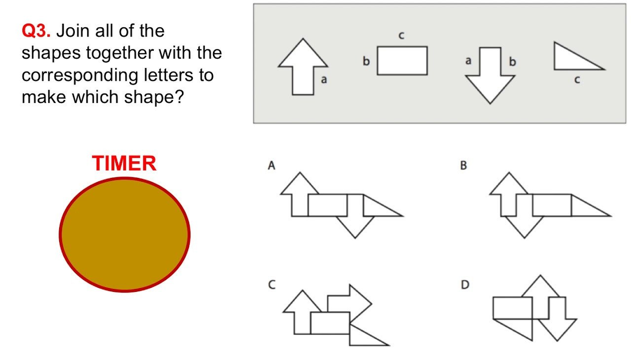 Spatial Reasoning Worksheets Testing Spatial Visualization Spatial Visualization