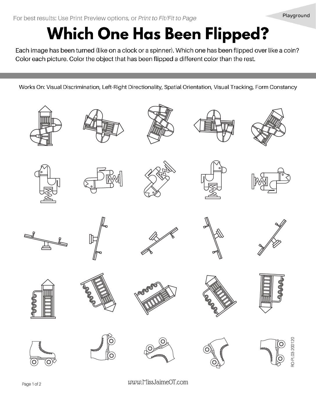 Playground Rotation RO PL03 pdf