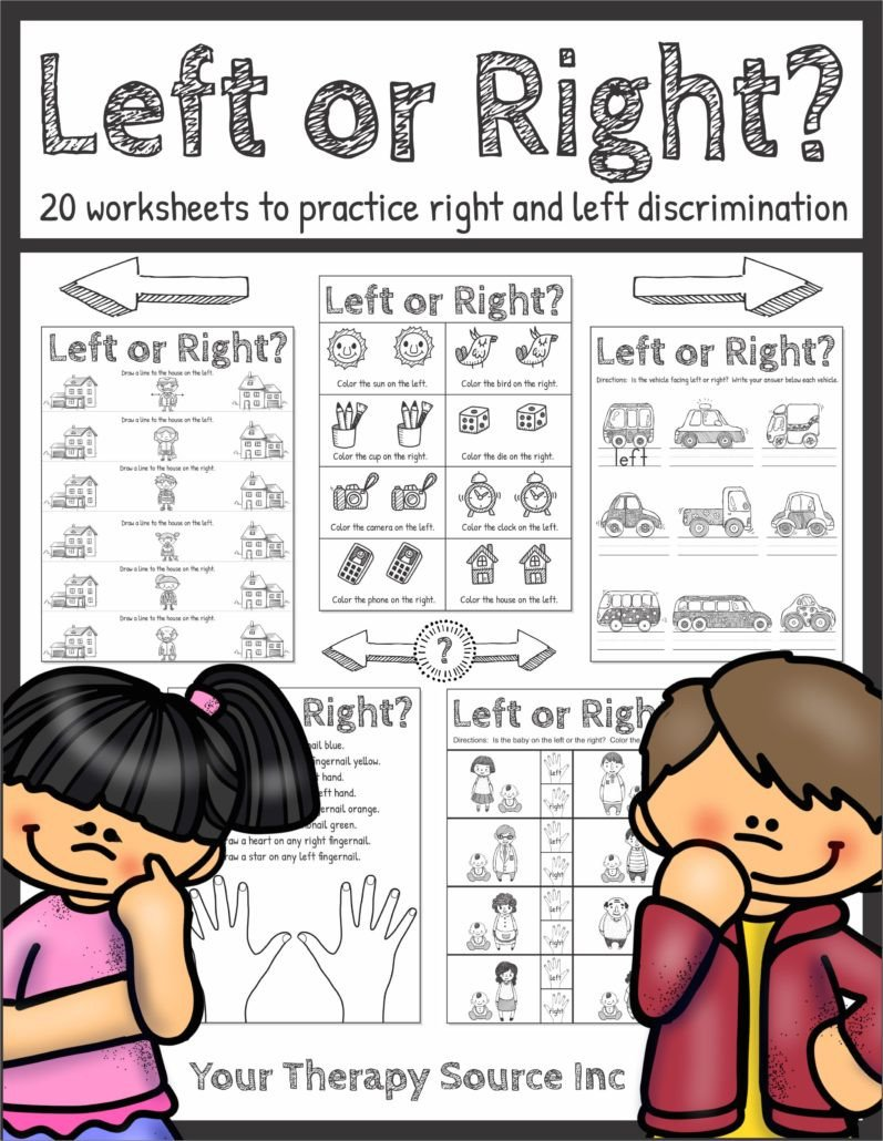 Right or Left Worksheets Cover 797x1030