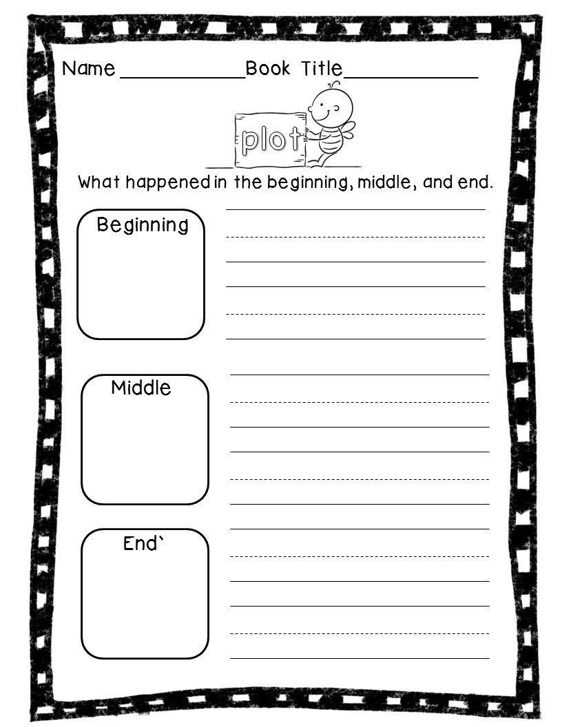Story Elements Worksheets 2nd Grade Story Elements Printables & Mini Posters