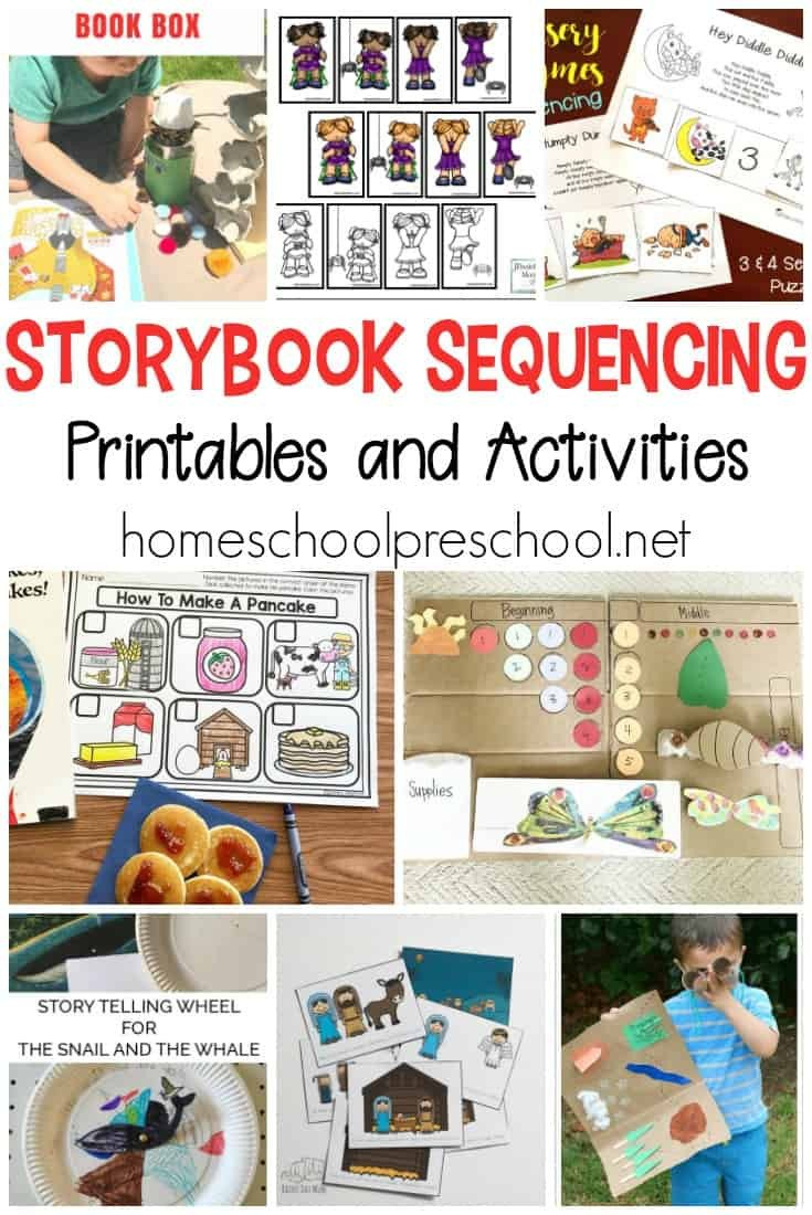 Story Sequence Worksheets for Kindergarten 10 Story Sequencing Cards Printable Activities for Preschoolers