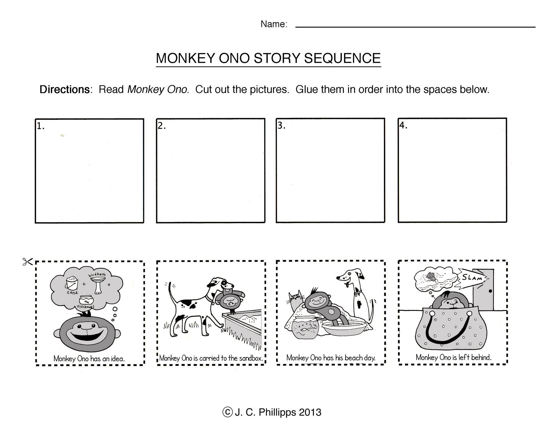 Story Sequence Worksheets for Kindergarten Sequencing Stories Worksheets