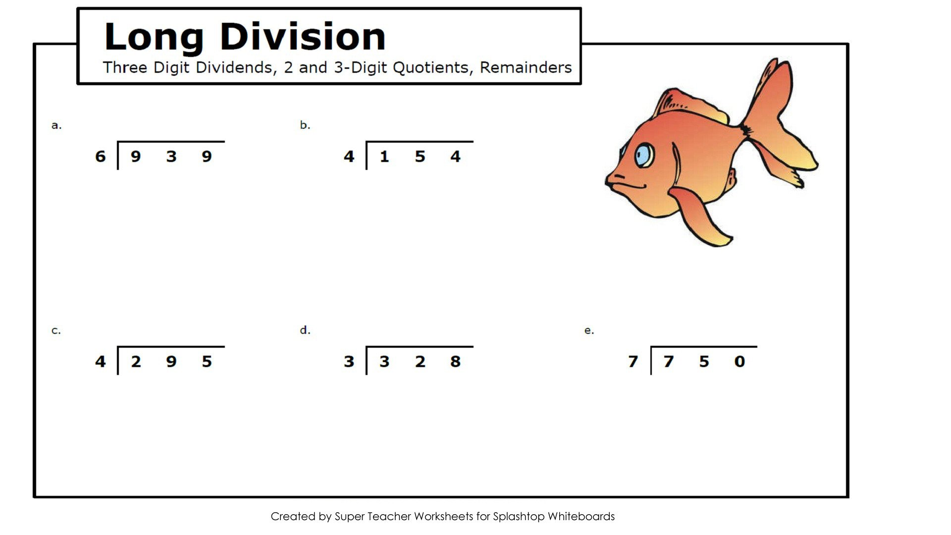 Super Teacher Worksheets Long Division Splashtop Whiteboard Background Graphics