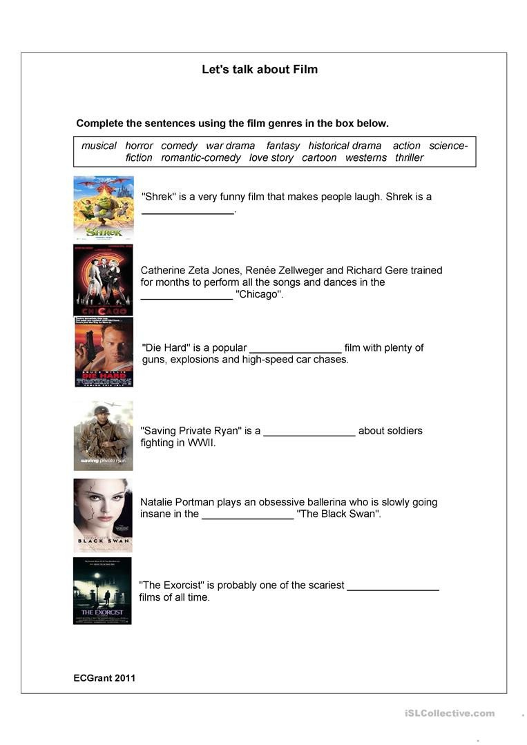 Teaching Genre Worksheets Genres English Esl Worksheets for Distance Learning