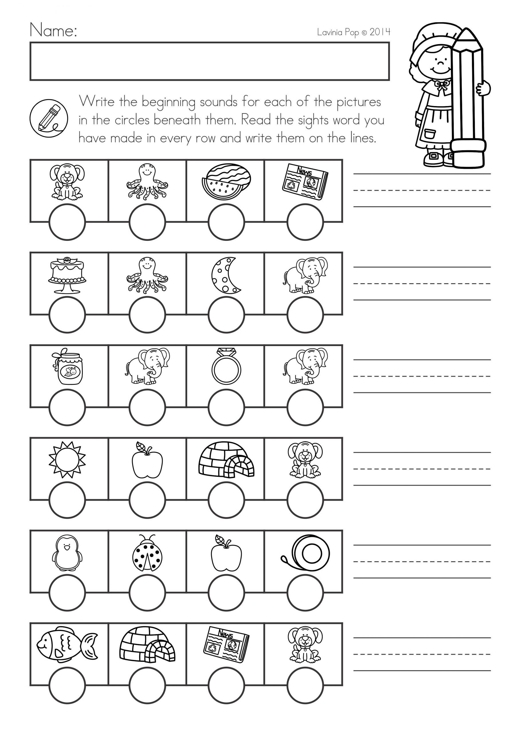 Thanksgiving Phonics Worksheets Thanksgiving Math & Literacy Worksheets and Activities for