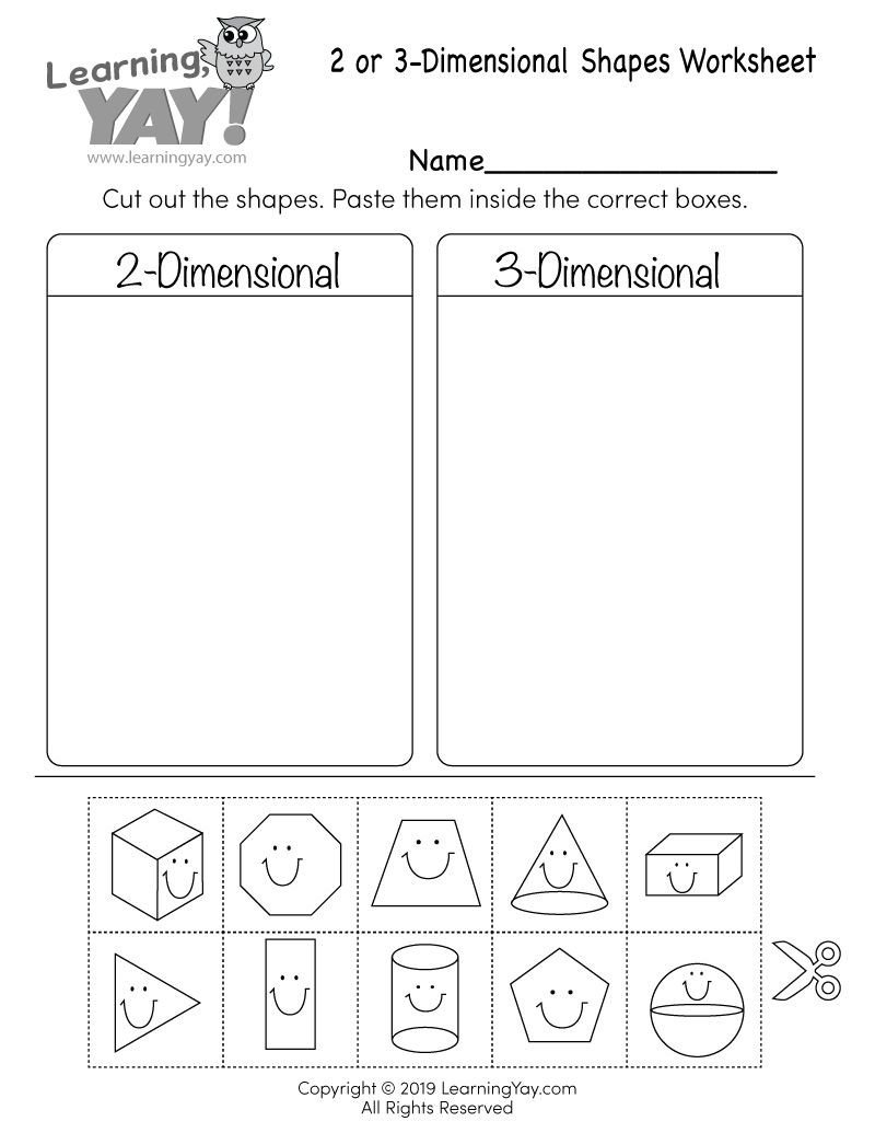 Two Dimensional Shapes Worksheet Pin On First Grade Math Worksheets