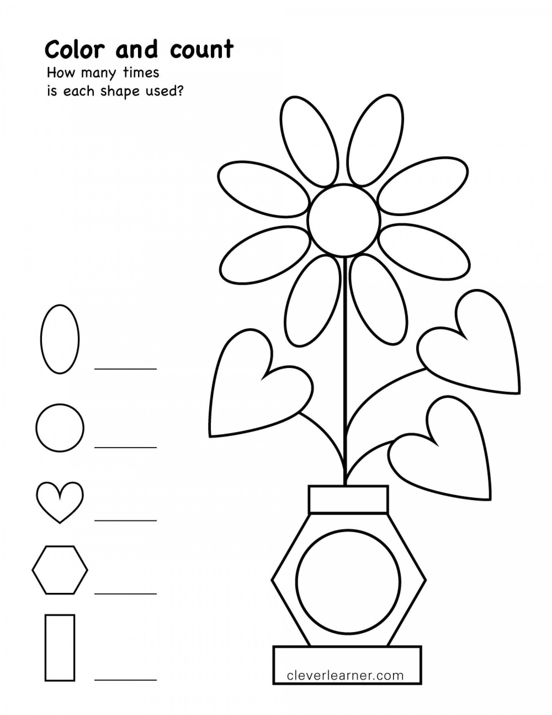 Two Dimensional Shapes Worksheet Two Dimensional Shapes Worksheets Coloring Worksheet Shapes