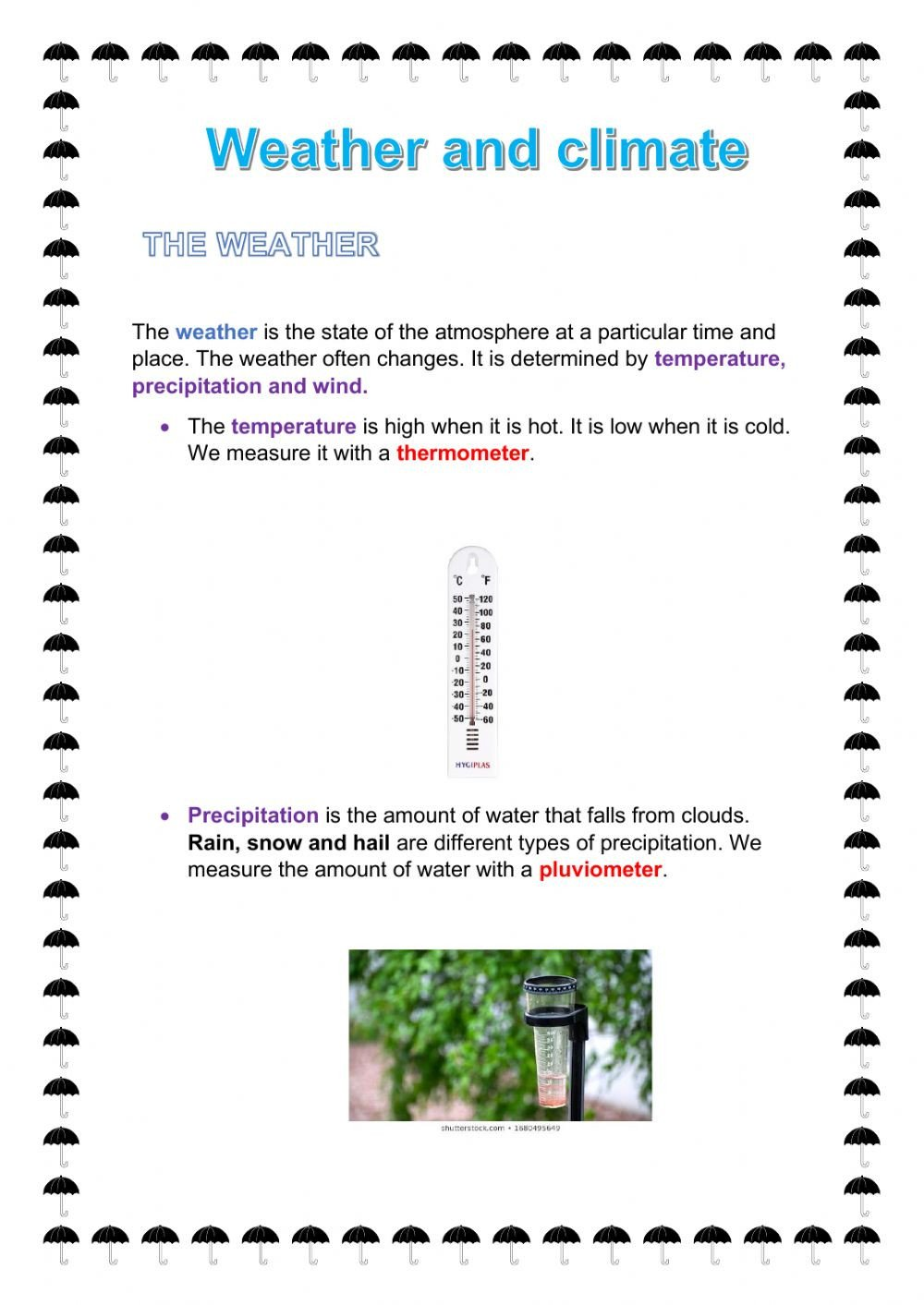 Weather and climate mn nq